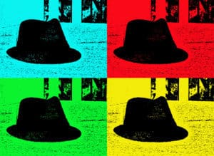 View alte Hüte